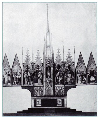 foto 8 - Ontwerp hoogaltaar Freiburg (bron: Gothic Revival)